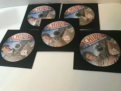 CHiPs: The Complete First Season DVD Discs 2-6 Disc Only in sleeve