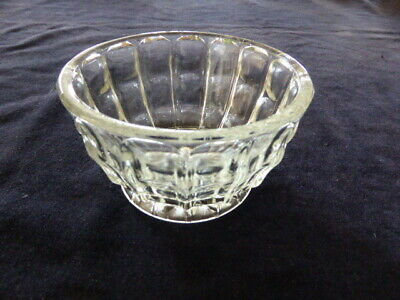 Vintage high sided glass bowl