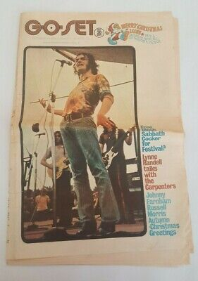 Go Set Magazine INCOMPLETE December 26 1970 Joe Cocker