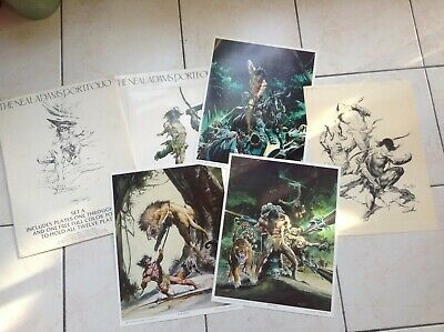 rare portfolio The Neal Adams 1978