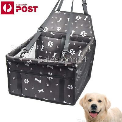 Cat Dog Pet Car Booster Seat Auto Carrier Travel Protector Safety Basket Puppy