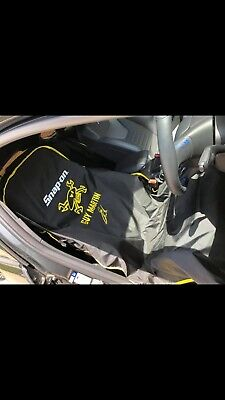 Snap On Guy Martin Seat Cover Limited Edition Black And Yellow NEW