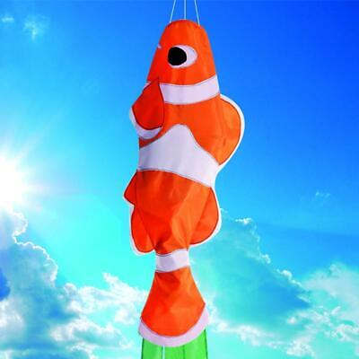 Clown Fish Windsock for Flagpole