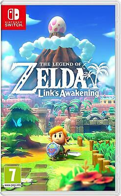 "Nintendo Switch Game "" The Legend Of Zelda Links Awakening"" *Mint In Box*"