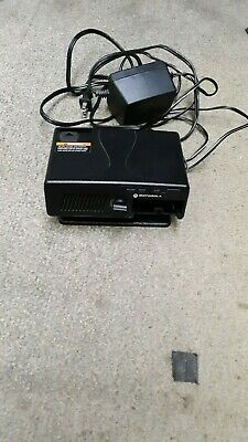 Motorola minitor V 5 Ampliefied Charger with Power Supply RLN5869A