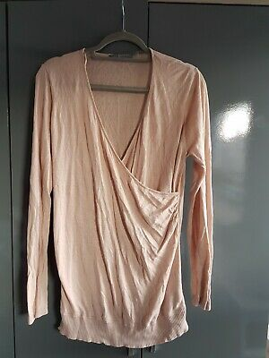New Look Maternity Top Size 16 Blush Pink Nude