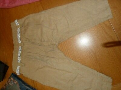 next girls trousers 5 years crop