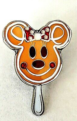 Disney Parks Christmas Holiday Treats, Minnie Gingerbread Face PIN