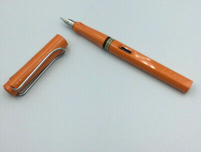 Lamy Safari Füller  orange Sonder edition von 2009 / dot cap