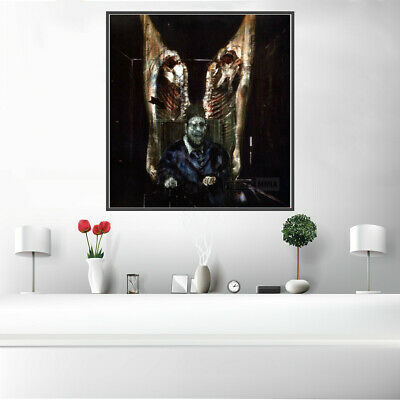 Creative Scary Canvas print Painting Picture Room Wall Art Poster Home Decor