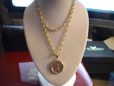 2019 Solid Gold $5.00 American Eagle Coin with Chain