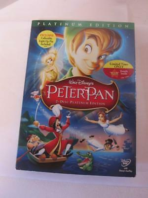 Walt Disney Peter Pan 2 - Disc Platinum Edition With Slip Cover