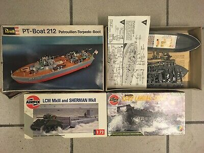 Lot 3 kits to mount Airfix Revell scale 1/72