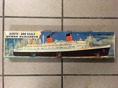 Lot of 4 cruise ships kits to mount Airfix Revell
