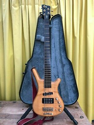 BASS Warwick FNA Jazzman made germany 5 strings bajo Corvette Flamed Maple +ash