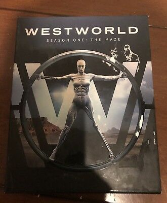 Westworld: The Complete First Season (Blu-ray Disc, 2017)