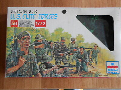 ESCI US elite forces marines  guerre du Vietnam war 1/72