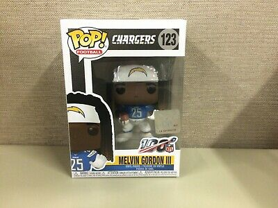 Funko POP Football NFL: Los Angeles Chargers Melvin Gordon III Running Back #122