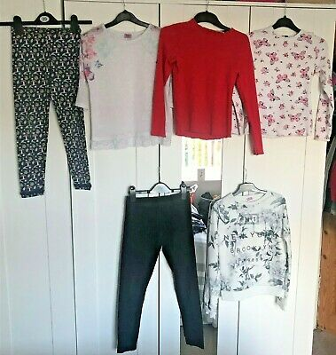 Girls Tops, T Shirts, Jogging pants, trousers Clothing Bundle - 9-10 years