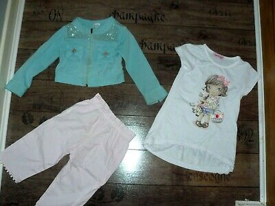 Miss Grant girls jacket ,Lily Gaufrette pants size 3 years