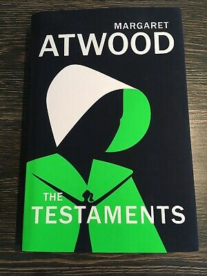 Margaret Atwood The Testaments First Edition, First Print New Man Booker Award
