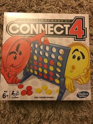 Connect 4 Classic Grid Board Game by HASBRO NEW/SEALED