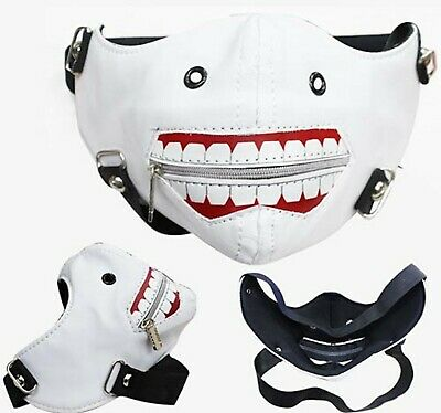 Anime Tokyo Ghoul Cosplay Mask USA SELLER!!! FAST SHIPPING!