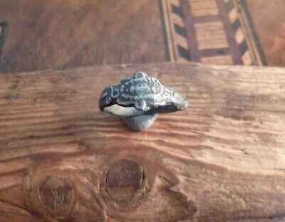 Amazing Late Medieval Pewter Richly Decorated Ring-Metal Detecting Find