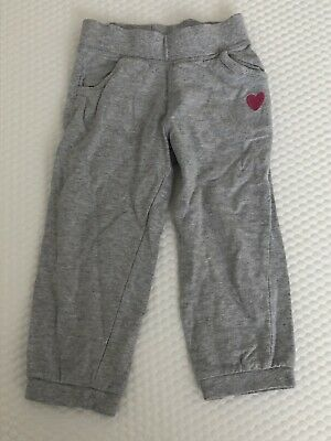 Girl's grey trousers Size 2-3 Years By Mothercare