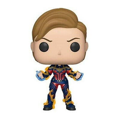 Funko Avengers End Game POP Captain Marvel New Hair Vinyl Figure NEW IN STOCK
