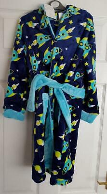 Boys Space Dressing Gown Brand New with Tags Ages 4-5 and 5-6 years