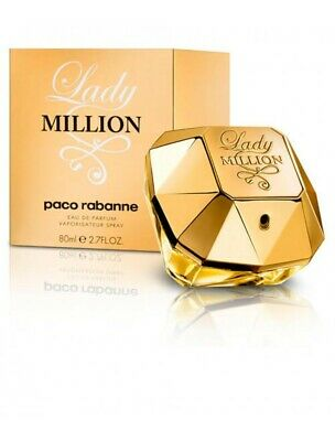 Paco Rabanne Lady Million Eau De Parfum Spray for Women 80 ml 3349668508587