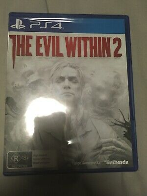 The Evil Within 2 PlayStation 4 PS4 GAME BRAND NEW SEALED FREE POSTAGE Bethesda