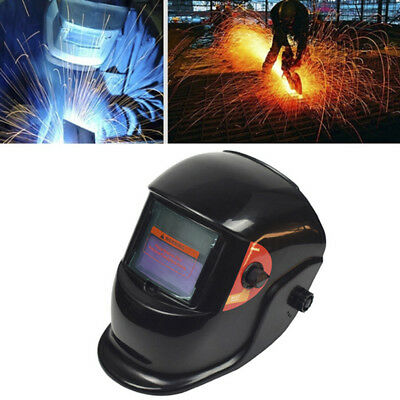 Solar Powered Auto-Darkening Welding Helmet Grinding Welder Mask Filter Shade WG