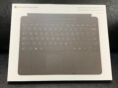 Microsoft Surface Pro X Type Cover Keyboard 1864 With Pen, New!