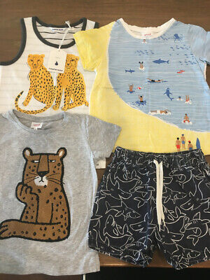 Seed - Country Road - Boys Tops And Shorts - Size 5 - One New Item.