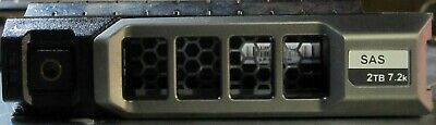 """Dell Poweredge Powervault 2Tb 7.2K 3.5"""" SAS in tray Qty available"""