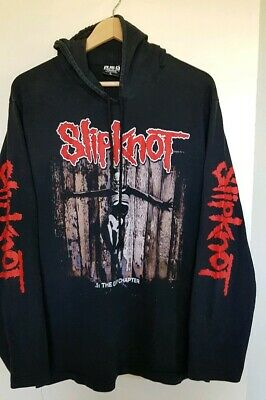Slipknot hoodie style shirt The Gray Chapter
