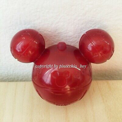 Disney Parks 2019 Christmas Mickey Jingle Bell Ice Cube Disneyland Glowing RED