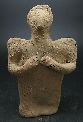 Ancient Terracotta Indus Valley Worshipper Statue