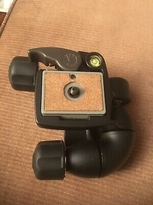 Manfrotto bogen 3437 Magnesium Tripod Head with Quick Release Plate  Italy
