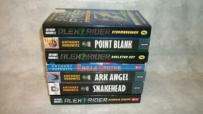 S474 Anthony Horowitz Alex Rider Spy Novels Thriller Young Adults 7 PB Book Lot