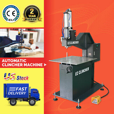 USA 110V Automatic EZ Clincher Riveting Machine for Metal Channel Letter Making