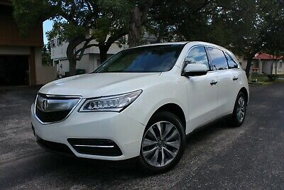 2015 Acura MDX SH AWD Tech Package WOW! TECHNOLOGY PKG! $50K NEW! ONLY 28K MILES! VIDEO! - 14 16 X5 X6 QX50 RX350