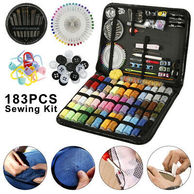 183pcs Portable Sewing Kit Home Travel Emergency Professional Sewing box Set