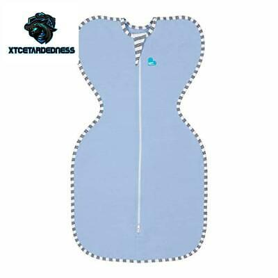 Love To Dream Swaddle UP, Blue, Medium, 13-19 lbs, Dramatically Better Sleep, Al