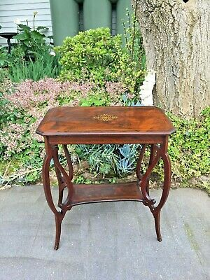 Beautiful Antique Victorian Rosewood 2 Tier Occasional / Side Table!