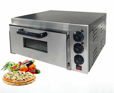 NEW Commercial  Single Deck Pizza Oven Electric  Baking Oven Fire Stone Catering