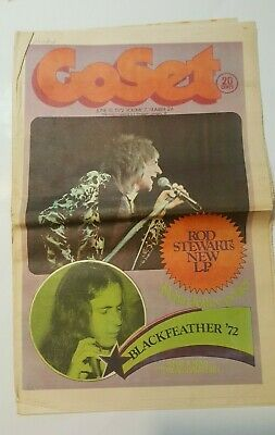 Go Set Magazine June 10 1972 INCOMPLETE Rod Stewart