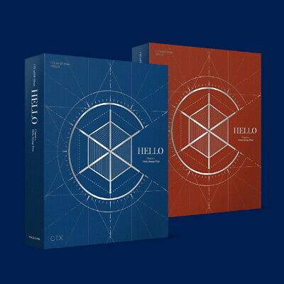 CIX  - Hello Chapter 2. Hello, Strange Place(2nd EP Album)CD+Scheduler+Photocard